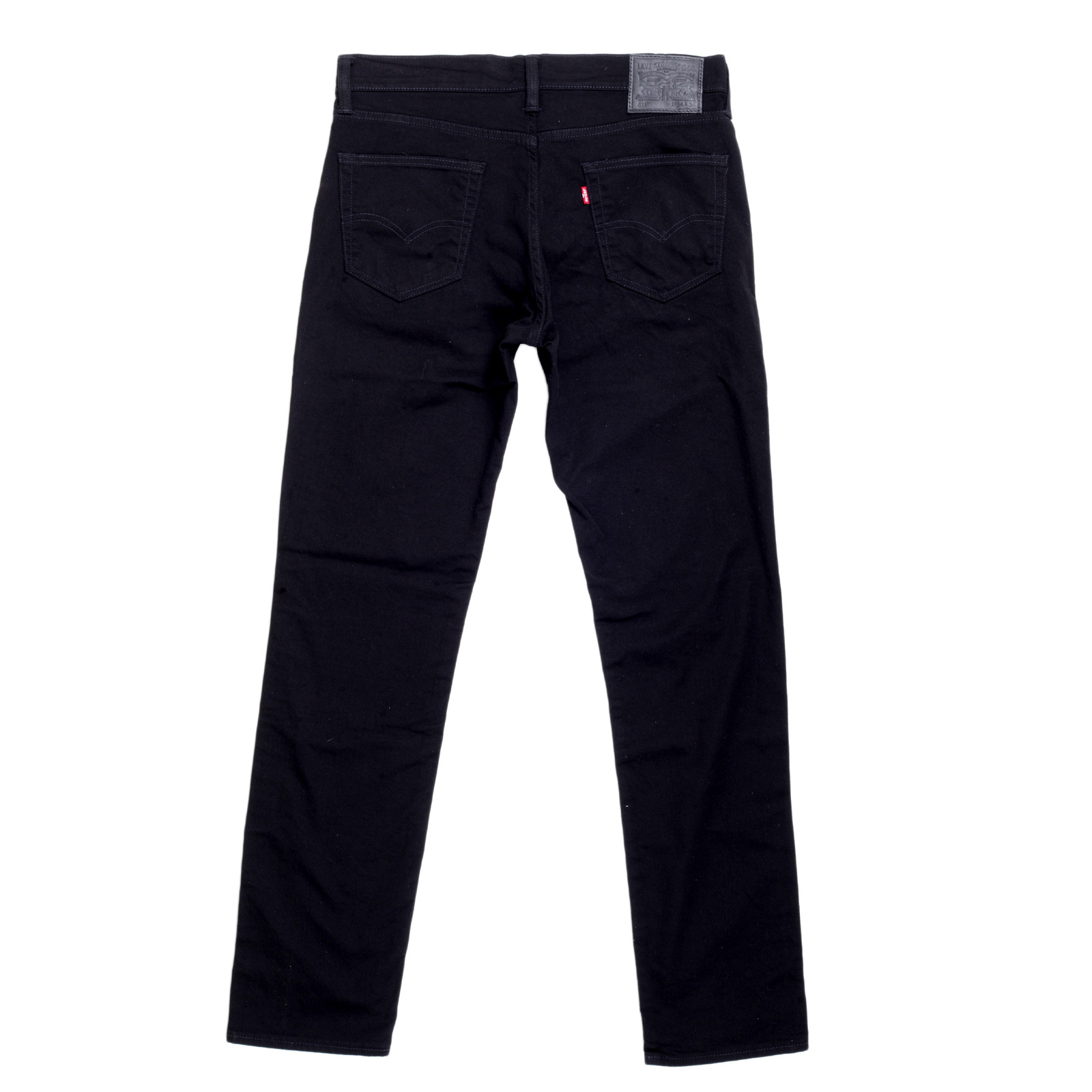 Levi's Men's Slim Fit Jeans, Size: 36x29, Black Stretch. A modern slim with room to move, the ™ Slim Fit Stretch Jeans are a classic since right now. These jeans sit below the waist with a slim fit from hip to ankle. This pair has just the right amount of stretch for all-day comfort.