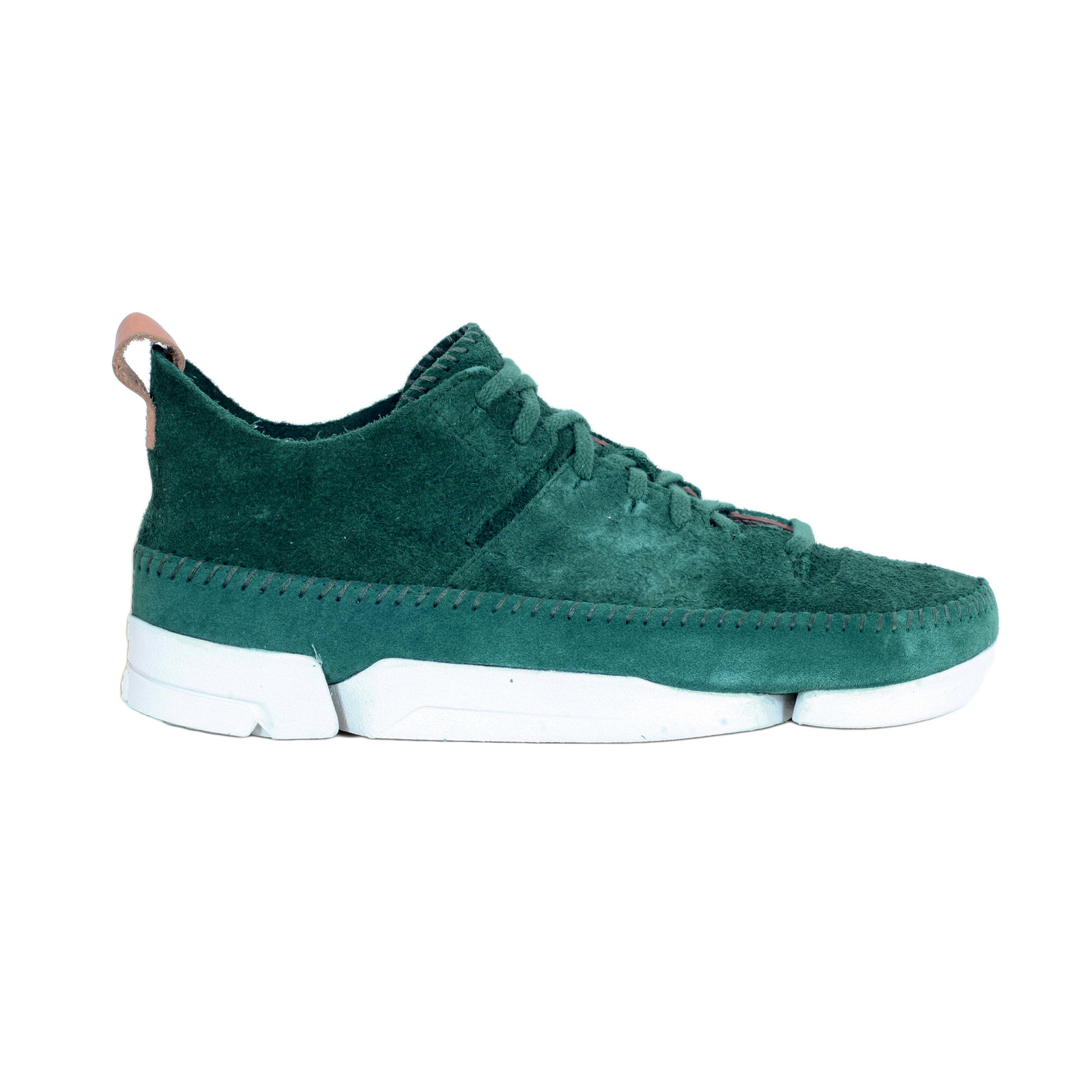 bcbaeecaa Mens Suede Shoes in Teal with the Trigenic Technology