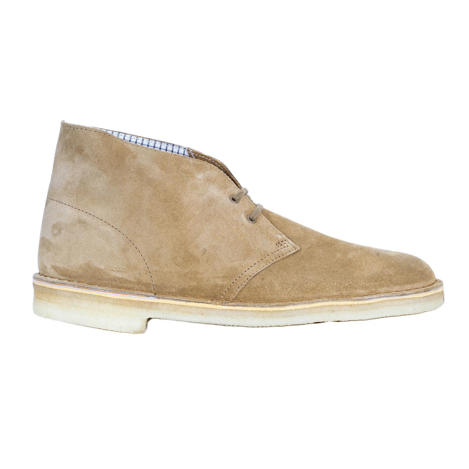Clarks Originals Desert Boot Men/'s Oakwood Beige Suede 26110058