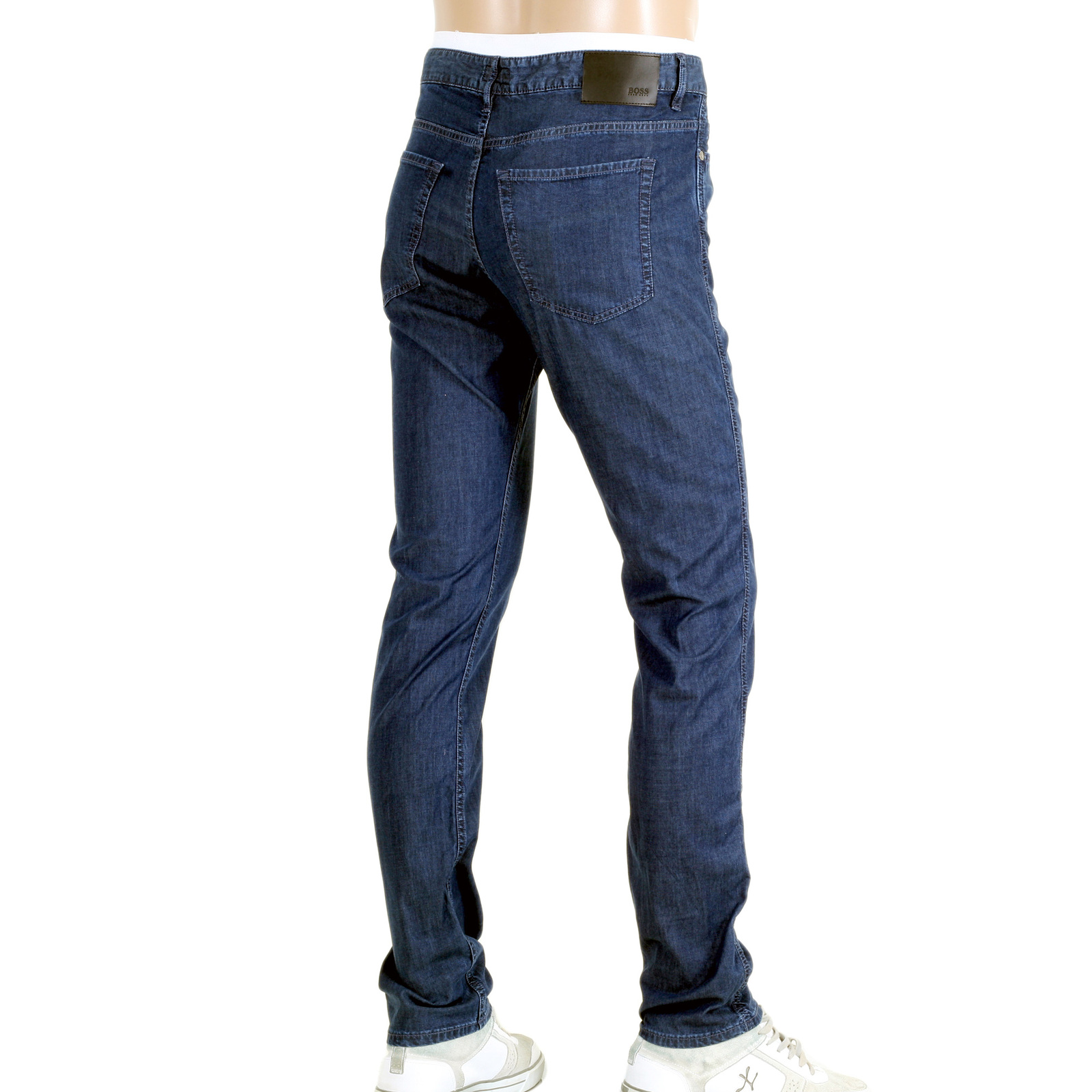 1c6d1bd2 Shop for Navy Blue Slim Fit Jeans from Hugo Boss Black