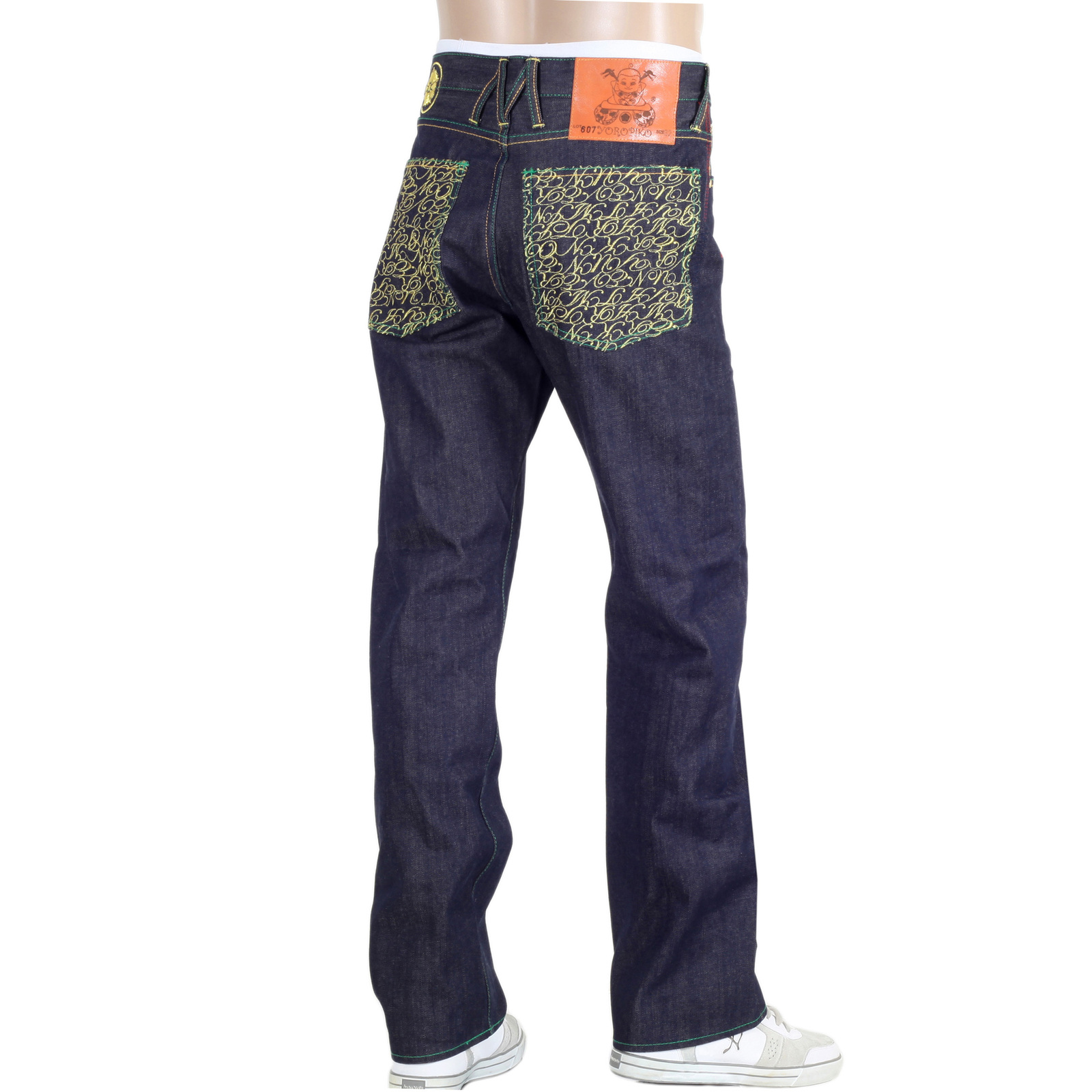 Buy Indigo FLY Selvedge Denim Jeans for Men by Yoropiko