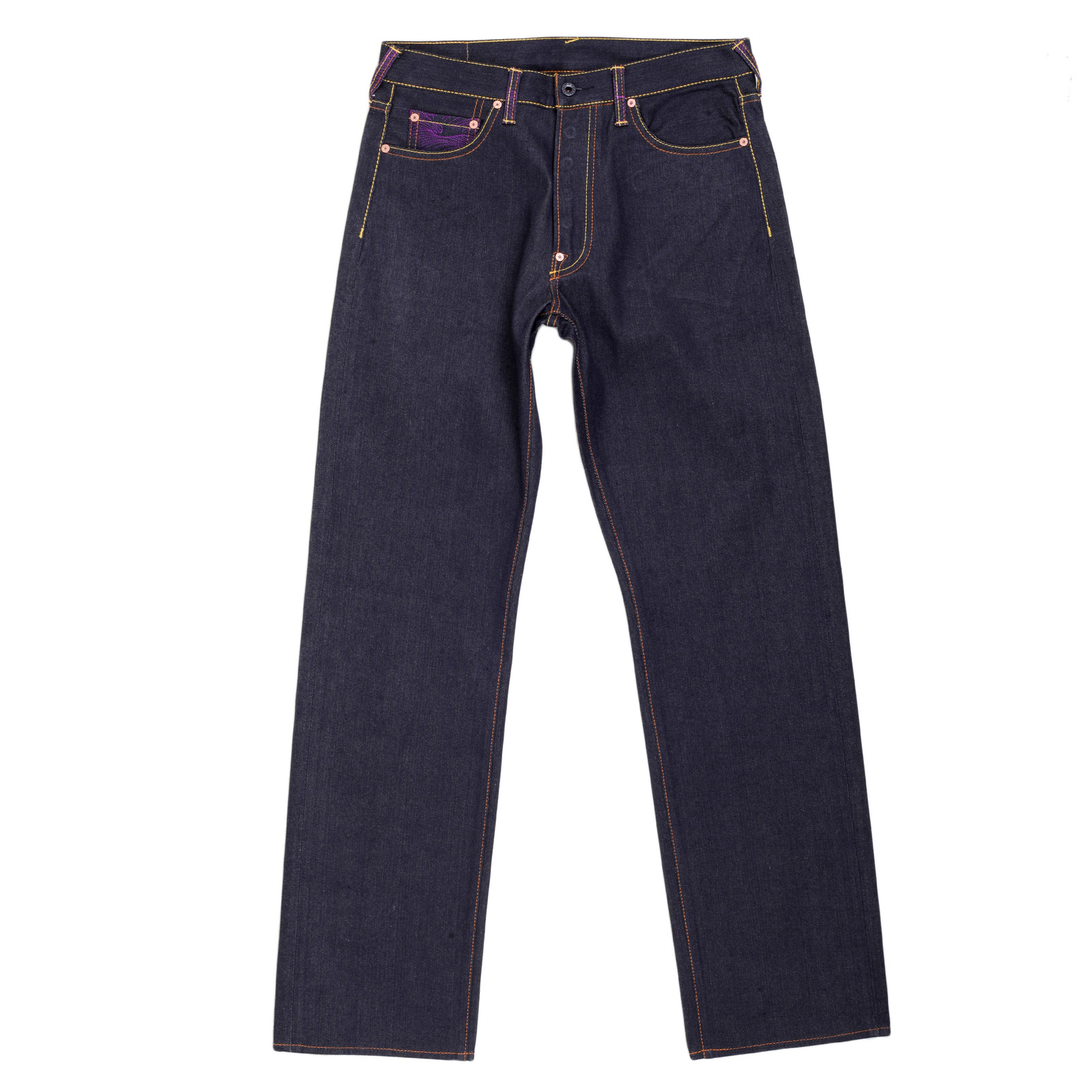 Rocking Raw Selvedge Denim Jeans by Red Monkey Jeans