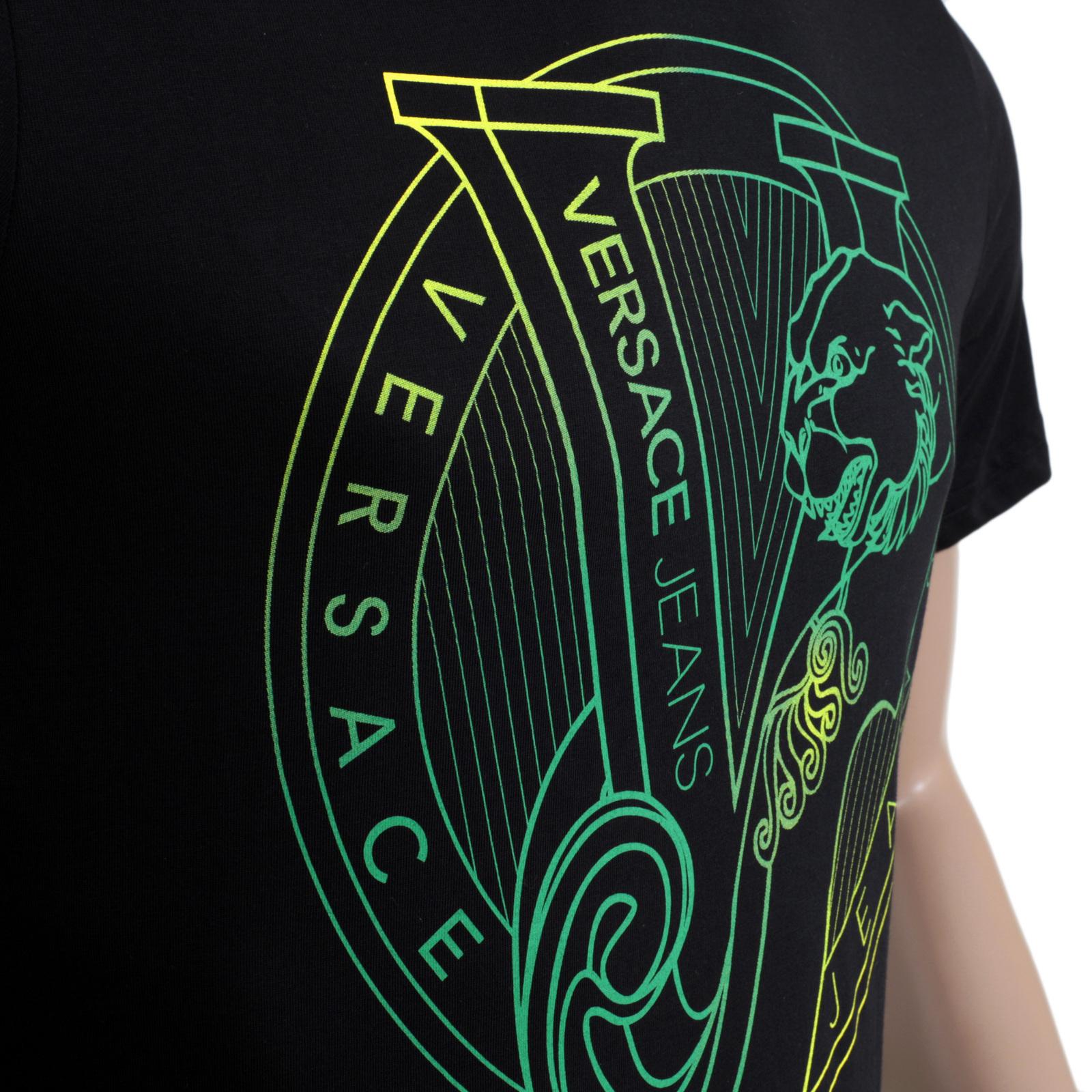 green versace shirt