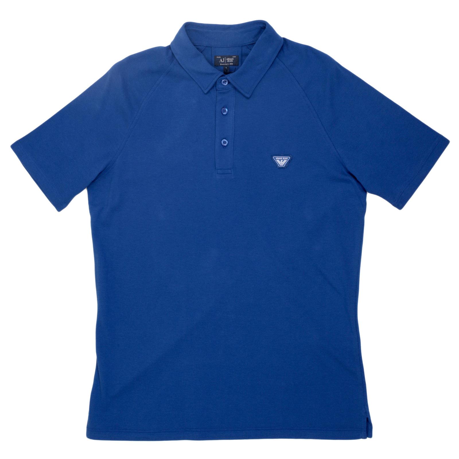 Polo Jeans Shirt Armani Armani Blue Blue Shirt Jeans Polo Armani 0vN8mnw