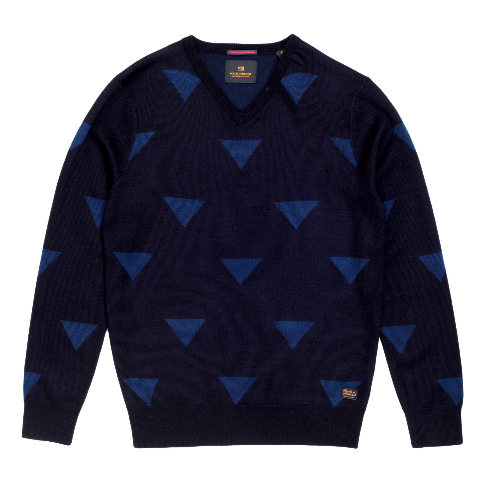 a5dd3169e14ddb Check out this Knitted Navy Jumper at Togged Today!