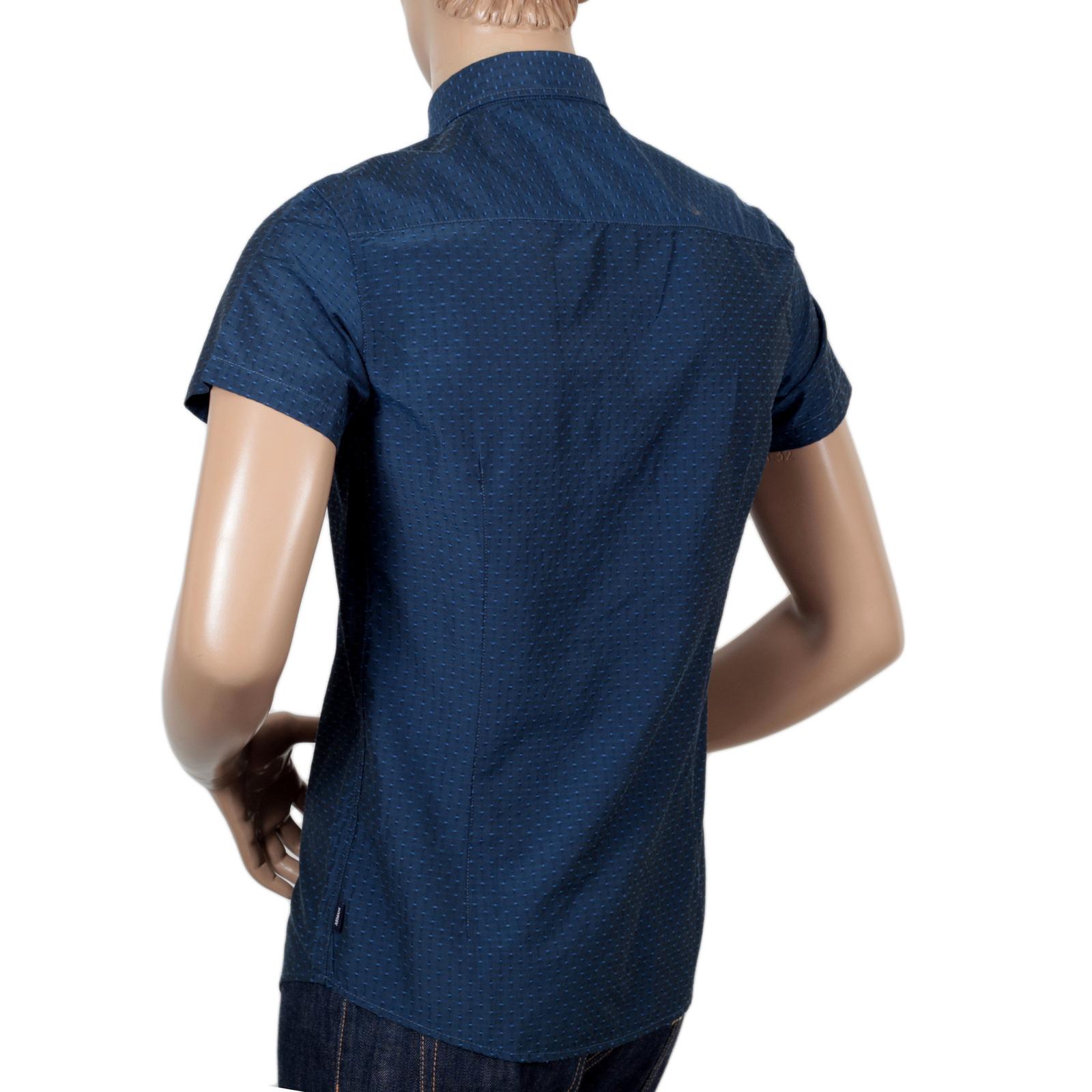 1e4b8139 Armani Jeans Mens Tipped Short Sleeve Polo Shirt
