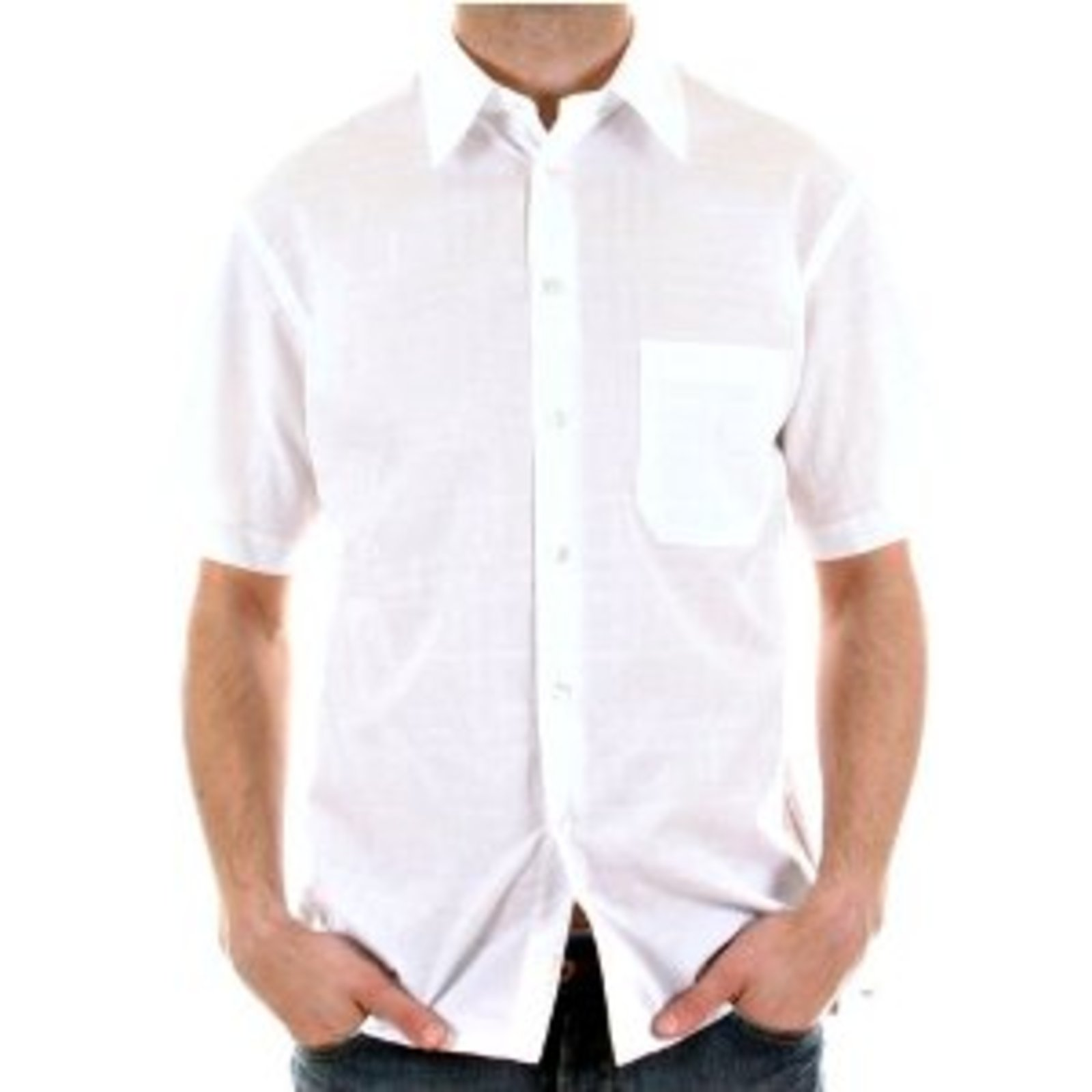 Burberry Mens White Short Sleeve Shirt At Togged Clothing