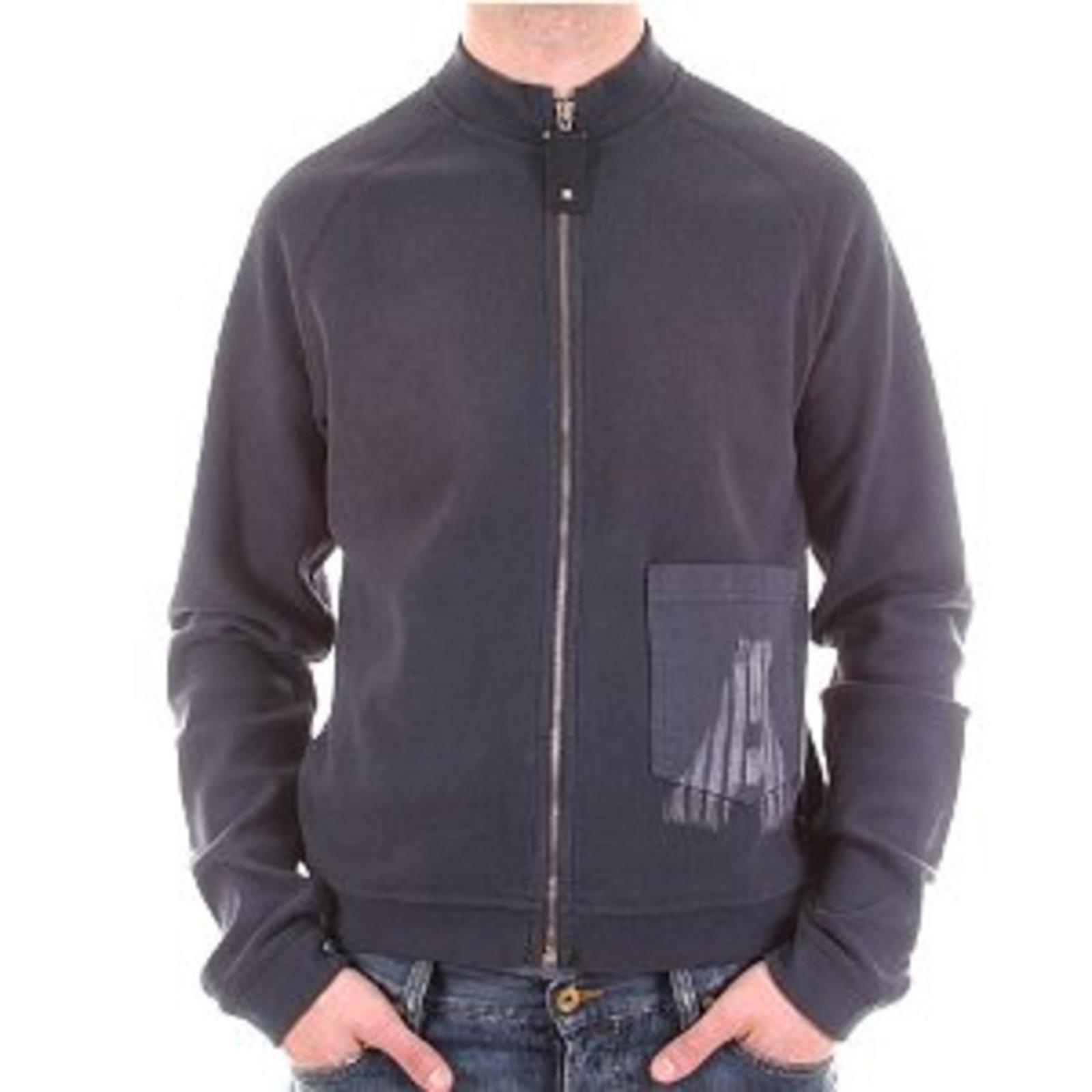 Armani Jeans jacket long sleeve zipped sweat top. AJM7929 at Togged ... d33fa1611b3d