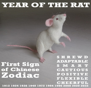 A Unique Way to Flaunt Your Zodiac Sign - Year of the Rat