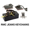 Keychains from RMC Jeans, A Product Feature