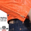 Styling the RMC Jeans Leather Jacket